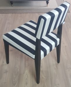Classic black white chair