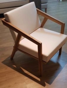 Teakwood Armchair